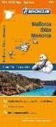 Cover-Bild zu Michelin Balearen (Mallorca, Ibiza, Menorca). Straßen- und Tourismuskarte 1:140.000. 1:140'000
