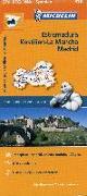 Cover-Bild zu Michelin Regionalkarte Estremadura (Extremadura), Kastilien-La Mancha, Madrid 1 : 400 000