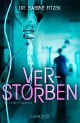 Cover-Bild zu Verstorben von Fitzek, Sabine