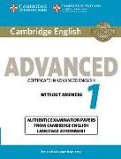 Cover-Bild zu Cambridge English. Advanced 1. Student's Book without Answers