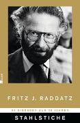 Cover-Bild zu Stahlstiche von Raddatz, Fritz J.