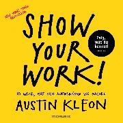 Cover-Bild zu Show Your Work! (eBook) von Kleon, Austin