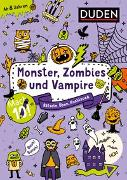 Cover-Bild zu Mach 10! Monster, Zombies und Vampire - Ab 8 Jahren von Eck, Janine