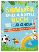 Cover-Bild zu Sommerspiel & Bastelbuch für Kinder von Eck, Janine