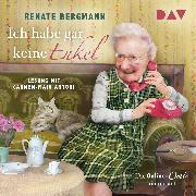 Cover-Bild zu Ich habe gar keine Enkel. Die Online-Omi räumt auf (Audio Download) von Bergmann, Renate
