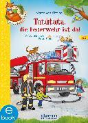 Cover-Bild zu Der kleine Fuchs liest vor. Tatütata, die Feuerwehr ist da! (eBook) von Klitzing, Maren von