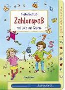 Cover-Bild zu Kunterbunter Zahlenspaß mit Luca und Sophie von Eimer, Petra (Illustr.)
