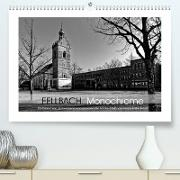Cover-Bild zu Fellbach Monochrome (Premium, hochwertiger DIN A2 Wandkalender 2022, Kunstdruck in Hochglanz) von Eisold, Hanns-Peter