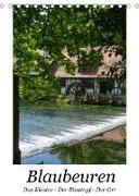Cover-Bild zu Blaubeuren I Das Kloster - Der Blautopf - Der Ort (Tischkalender 2022 DIN A5 hoch) von Eisold, Hanns-Peter