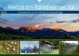 Cover-Bild zu Herbst im Tannheimer Tal - Impressionen von Schattwald bis Nesselwängle (Wandkalender 2022 DIN A3 quer) von Eisold, Hanns-Peter