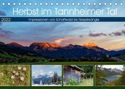 Cover-Bild zu Herbst im Tannheimer Tal - Impressionen von Schattwald bis Nesselwängle (Tischkalender 2022 DIN A5 quer) von Eisold, Hanns-Peter
