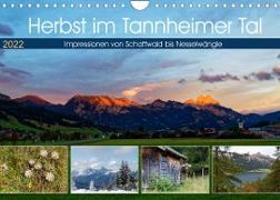 Cover-Bild zu Herbst im Tannheimer Tal - Impressionen von Schattwald bis Nesselwängle (Wandkalender 2022 DIN A4 quer) von Eisold, Hanns-Peter