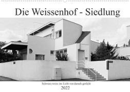 Cover-Bild zu Die Weissenhof - Siedlung (Wandkalender 2022 DIN A2 quer) von Eisold, Hanns-Peter