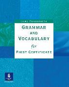 Cover-Bild zu Grammar and Vocabulary for First Certificate First Certificate Grammar and Voc. for First C. Without Key von Prodromou, Luke