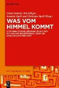 Cover-Bild zu Was vom Himmel kommt von Gabriel, Gösta Ingvar (Hrsg.)