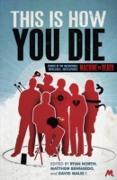 Cover-Bild zu This Is How You Die (eBook) von North, Ryan