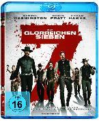 Cover-Bild zu Die glorreichen Sieben - rote Amaray von Denzel Washington (Schausp.)