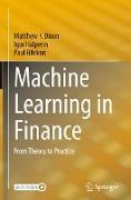 Cover-Bild zu Machine Learning in Finance von Dixon, Matthew F.
