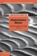 Cover-Bild zu Stakeholders Matter: A New Paradigm for Strategy in Society von Sachs, Sybille