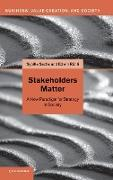 Cover-Bild zu Stakeholders Matter von Ruhli, Edwin