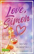 Cover-Bild zu Love, Simon (Nur drei Worte - Love, Simon) von Albertalli, Becky