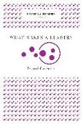 Cover-Bild zu What Makes a Leader? (Harvard Business Review Classics) (eBook) von Goleman, Daniel