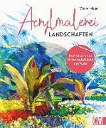 Cover-Bild zu Acrylmalerei Landschaften von Maier, Werner