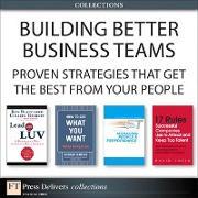 Cover-Bild zu Building Better Business Teams (eBook) von Blanchard, Ken