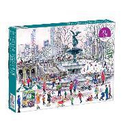 Cover-Bild zu Michael Storrings Bethesda Fountain 1000 Piece Puzzle von Galison (Geschaffen)