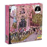Cover-Bild zu Blooming Streets 500 Piece Puzzle von Galison