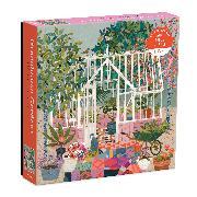 Cover-Bild zu Greenhouse Gardens 500 Piece Puzzle von Galison