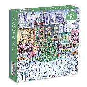Cover-Bild zu Michael Storrings Christmas in the City 1000 Piece Puzzle von Galison