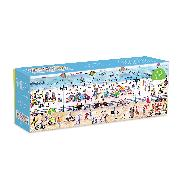 Cover-Bild zu Michael Storrings Summer Fun 1000 Piece Panoramic Puzzle von Galison