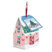 Cover-Bild zu Tree Skaters 130 Piece Puzzle Ornament von Galison