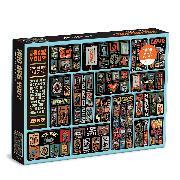 Cover-Bild zu Who Are You? 1000 Piece Puzzle von Galison