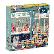 Cover-Bild zu Book Haven 1000 Piece Puzzle In Square Box von Galison