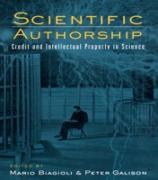 Cover-Bild zu Scientific Authorship (eBook) von Biagioli, Mario (Hrsg.)