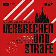 Cover-Bild zu Verbrechen und Strafe Teil 3-4 (Audio Download) von Dostojewskij, Fjodor M.