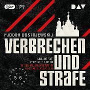 Cover-Bild zu Verbrechen und Strafe Teil 4-5 (Audio Download) von Dostojewskij, Fjodor M.