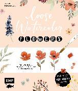 Cover-Bild zu Loose Watercolor - Flowers (eBook) von Keller, Anja
