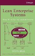 Cover-Bild zu Bell, Steve: Lean Enterprise Systems