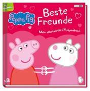 Cover-Bild zu Panini: Peppa Pig: Beste Freunde - Mein allerliebstes Klappenbuch