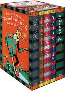Cover-Bild zu Carroll, Lewis: Die schönsten Kinderbuchklassiker: Peter Pan - Peterchens Mondfahrt - Der Zauberer von Oz - Alice im Wunderland - Pinocchio (5 Bände in Kassette)