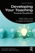 Cover-Bild zu Developing Your Teaching (eBook) von Kahn, Peter