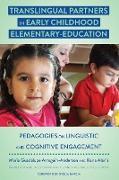 Cover-Bild zu Translingual Partners in Early Childhood Elementary-Education (eBook) von Arreguín-Anderson, María