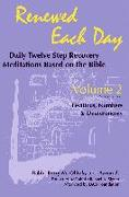 Cover-Bild zu Olitzky, Kerry M.: Renewed Each Day--Leviticus, Numbers & Deuteronomy: Daily Twelve Step Recovery Meditations Based on the Bible
