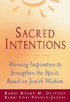 Cover-Bild zu Forman-Jacobi, Rabbi Lori: Sacred Intentions (eBook)