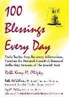 Cover-Bild zu Olitzky, Rabbi Kerry M.: 100 Blessings Every Day (eBook)