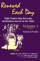 Cover-Bild zu Olitzky, Rabbi Kerry M.: Renewed Each Day-Genesis & Exodus (eBook)