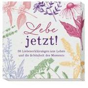 Cover-Bild zu Groh Verlag: Lebe jetzt!